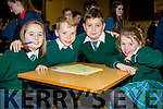 Pupils from Aghatubrid NS who took part in the Cahersiveen Credit Unions Schools Quiz in Foilmore on Sunday were l-r; Sheena O'Neill, Conor O'Shea, Aaron Galvin & Ciara McCrohan.