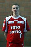 Nach 167 L&auml;nderspielen mit 576 Toren beendet Holger Glandorf seine Karriere in der deutschen Handball-Nationalmannschaft. Der 31-j&auml;hrige Linksh&auml;nder war 2007 Weltmeister und gewann im Juni mit der SG Flensburg-Handewitt die Champions League<br /> Archiv aus: <br />  Handball-Bundesliga 2003/2004 Trainingsspiel HSG Nordhorn vs. FC Barcelona 31 : 31<br /> Holger Glandorf<br /> Foto &copy; nordphoto/Guenter Schroeder <br /> <br />  *** Local Caption *** Foto ist honorarpflichtig! zzgl. gesetzl. MwSt.<br />  Belegexemplar erforderlich<br /> Adresse: nordphoto<br /> Georg-Reinke-Strasse 1<br /> 49377 Vechta