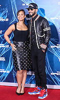 NEW YORK CITY, NY, USA - APRIL 24: Singer Alicia Keys and Swizz Beatz arrive at the New York Premiere Of Sony Pictures' 'The Amazing Spider-Man 2' held at Ziegfeld Theater on April 24, 2014 in New York City, New York, United States. (Photo by Jeffery Duran/Celebrity Monitor)