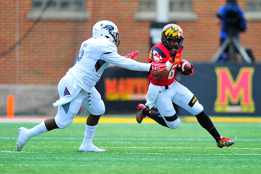 Maryland routed Howard 52-13 during home season opener at Capital One Field in College Park, MD on Saturday, September 3, 2016.  Alan P. Santos/DC Sports Box