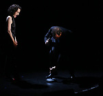 Bebe Neuwirth and Kevin McCollum on stage at the Vineyard Theatre 2017 Gala at the Edison Ballroom on March 14, 2017 in New York City.