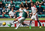 James Keatings scores his first goal for Hibs