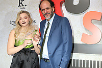 "LOS ANGELES - OCT 24:  Chloe Grace Moretz, Luca Guadagnino at the ""Suspiria"" Premiere at the ArcLight Theaters on October 24, 2018 in Los Angeles, CA"