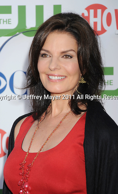 BEVERLY HILLS, CA - AUGUST 03: Sela Ward arrives at the TCA Party for CBS, The CW and Showtime held at The Pagoda on August 3, 2011 in Beverly Hills, California.