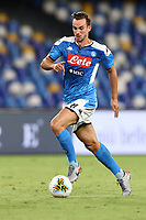 Fabian Ruiz of SSC Napoli<br /> during the Serie A football match between SSC  Napoli and US Sassuolo at stadio San Paolo in Naples ( Italy ), July 25th, 2020. Play resumes behind closed doors following the outbreak of the coronavirus disease. <br /> Photo Cesare Purini / Insidefoto