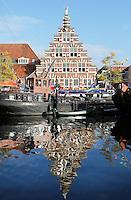 Nederland Leiden 2015 10 03 . De Stadstimmerwerf aan het Galgewater. Foto Berlinda van Dam / Hollandse Hoogte