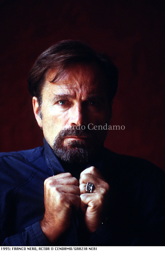 1995: FRANCO NERO, ACTOR © Leonardo Cendamo