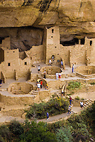 Mesa Verde Indianm Cliff dwellings in Colorado, USA