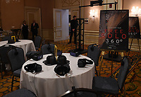 """PASADENA, CA - FEBRUARY 8: The Free Solo 360 VR experience at the """"Free Solo"""" panel at the 2019 National Geographic portion of the Television Critics Association Winter Press Tour at The Langham Huntington Hotel on February 8, 2019 in Pasadena, California. (Photo by Frank Micelotta/Fox/PictureGroup)"""