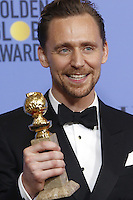 www.acepixs.com<br /> <br /> January 8 2017, LA<br /> <br /> Tom Hiddleston appeared in the press room during the 74th Annual Golden Globe Awards at The Beverly Hilton Hotel on January 8, 2017 in Beverly Hills, California.<br /> <br /> By Line: Famous/ACE Pictures<br /> <br /> <br /> ACE Pictures Inc<br /> Tel: 6467670430<br /> Email: info@acepixs.com<br /> www.acepixs.com