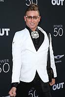 10 August 2017 - Los Angeles, California - Patrik Gallineaux. OUT Magazine's Inaugural POWER 50 Gala & Awards Presentation. Photo Credit: F. Sadou/AdMedia