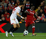 Sadio Mane of Liverpool during the Champions League Group E match at the Anfield Stadium, Liverpool. Picture date 13th September 2017. Picture credit should read: Simon Bellis/Sportimage