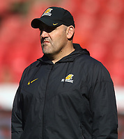 Mario Ledesma (Head Coach) of the Jaguares during the Super Rugby quarter-final match between the Emirates Lions and the Jaguares at the Emirates Airlines Park Stadium,Johannesburg, South Africa on Saturday, 21 July 2018. Photo: Steve Haag / stevehaagsports.com