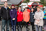 Seen at The Red Fox Inn preparing for the Walk to St. Finian's Holy Well in aid of Glenbeigh Handball Club on Saturday<br /> L-R: Mike Griffin, Nora Griffin, Lorraine Sheehan, Alison McCarthy, Hazel Cronan, Nora O'Sullivan.