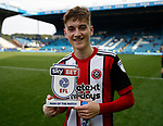 David Brooks of Sheffield Utd man of the match during the Championship match at the Hillsborough Stadium, Sheffield. Picture date 24th September 2017. Picture credit should read: Simon Bellis/Sportimage