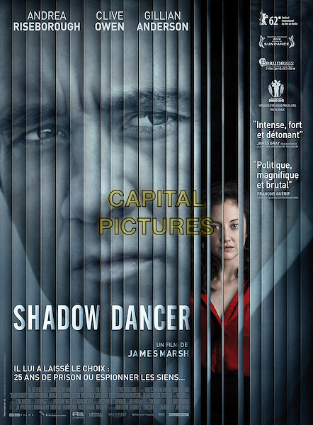FRENCH POSTER ART<br /> in Shadow Dancer (2012) <br /> *Filmstill - Editorial Use Only*<br /> CAP/FB<br /> Image supplied by Capital Pictures