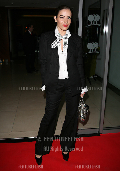 Elen Rivas arriving for the One Goal Foundation Gala Dinner at the Park Plaza, London. 16/03/2011 Picture by: Alexandra Glen / Featureflash