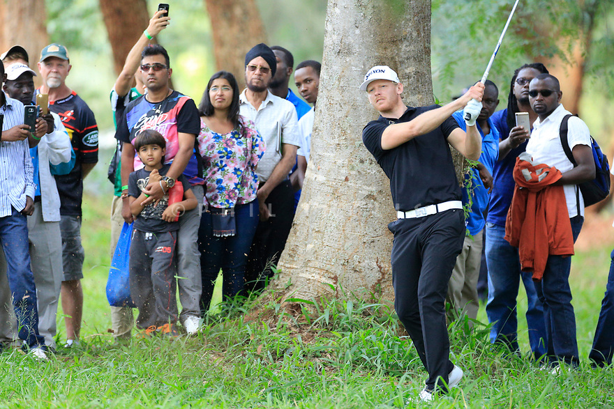Sebastian Soderberg (SWE) during the final round of the Barclays Kenya Open played at Muthaiga Golf Club, Nairobi, Kenya 22nd - 25th March 2018 (Picture Credit / Phil Inglis) 22/03/2018<br /> <br /> <br /> All photo usage must carry mandatory copyright credit (&copy; Golffile   Phil Inglis)