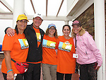 Guiding Light's Frank Dicopoulos is the honorary chair person of FAAN Walk for Food Allergy and poses with volunteers in Long Branch, New Jersey in September 2009. (Photo by Sue Coflin/Max Photos)