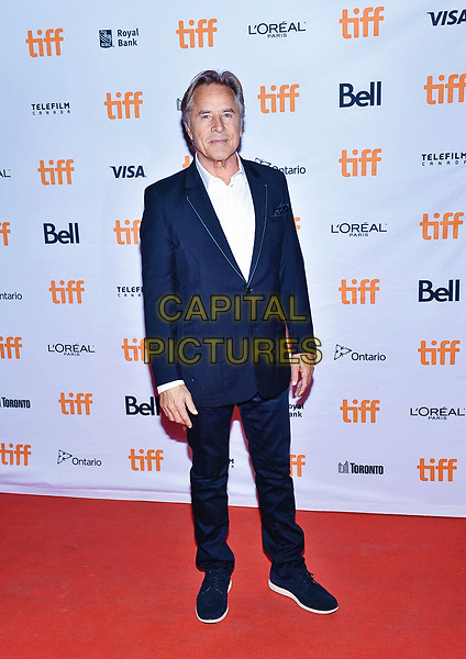 12 September 2017 - Toronto, Ontario Canada - Don Johnson.  2017 Toronto International Film Festival - &quot;Brawl In Cell Block 99&quot; Premiere held at Ryerson Theatre. <br /> CAP/ADM/BPC<br /> &copy;BPC/ADM/Capital Pictures