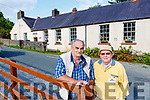 Pat O'Mahony Secretary and John Ward Treasurer from Barradubh Mens Shed who have set up headquarters in the Old School house in the Barradubh