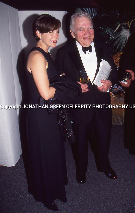 Katie Couric &amp; Andy Rooney 1996 by <br /> Jonathan Green