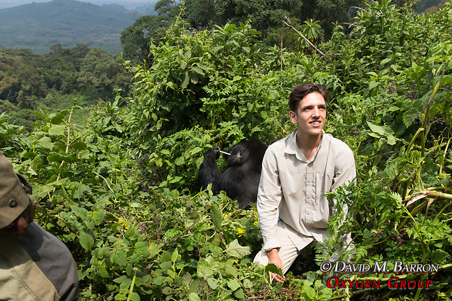 Cory With Mountian Gorillas