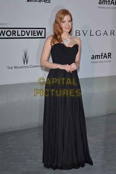 CAP D'ANTIBES, FRANCE - MAY 22: Jessica Chastain attends amfAR's 21st Cinema Against AIDS Gala at Hotel du Cap-Eden-Roc on May 22, 2014 in Cap d'Antibes, France. <br /> CAP/PL<br /> &copy;Phil Loftus/Capital Pictures