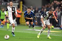 Lautaro Martinez of FC Internazionale , Leonardo Bonucci of Juventus <br /> Milano 6-10-2019 Stadio Giuseppe Meazza <br /> Football Serie A 2019/2020 <br /> FC Internazionale - Juventus FC <br /> Photo Andrea Staccioli / Insidefoto