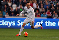 Jonjo Shelvey of Swansea during the Barclays Premier League match between Swansea City and Arsenal at the Liberty Stadium, Swansea on October 31st 2015