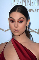LOS ANGELES - FEB 24:  Kira Kosarin at the 2018 Make-Up Artists and Hair Stylists Awards at the Novo Theater on February 24, 2018 in Los Angeles, CA