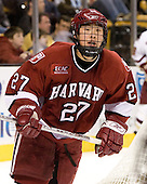 Kevin Du (Harvard University - Spruce Grove, AB) - The Boston College Eagles defeated the Harvard University Crimson 3-1 in the first round of the 2007 Beanpot Tournament on Monday, February 5, 2007, at the TD Banknorth Garden in Boston, Massachusetts.  The first Beanpot Tournament was played in December 1952 with the scheduling moved to the first two Mondays of February in its sixth year.  The tournament is played between Boston College, Boston University, Harvard University and Northeastern University with the first round matchups alternating each year.