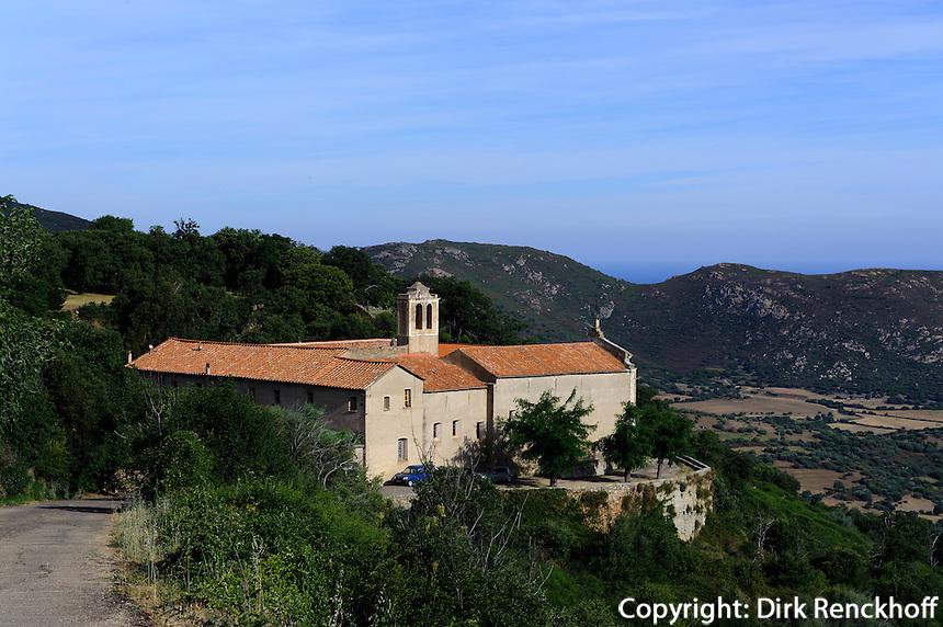 Kloster Marcasso in der Balagne, Korsika, Frankreich