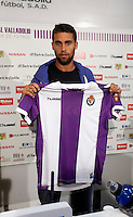 Fausto Rossi during the official presentation as a new Real Valladolid´s player in Jose Zorrilla Stadium. Valladolid, Spain. August 29,2013. (ALTERPHOTOS/Victor Blanco) NortePhoto.com