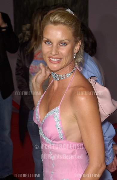 Actress NICOLETTE SHERIDAN at the world premiere, in Hollywood, of Cold Creek Manor..Sept 17, 2003