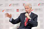 "Former U.S.A. President Bill Clinton during his speech in Congress ""LAUREATE & JOBS SUMMIT ON YOUTH"".May 21,2013. (ALTERPHOTOS/Acero)"