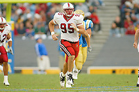 Drew Caylor during Stanford's 28-18 loss to UCLA on October 26, 2002 in Los Angeles, CA.<br />