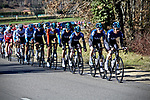 Team Sky lead the peloton during Stage 2 of the 2019 Tour de La Provence, running 195.6km from Istres to La Ciotat, France.<br /> Picture: SHIFT Active Media | Cyclefile<br /> <br /> <br /> All photos usage must carry mandatory copyright credit (&copy; Cyclefile | SHIFT Active Media)
