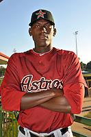 Feb 25, 2010; Kissimmee, FL, USA; The Houston Astros pitcher Jose Valdez (83) during photoday at Osceola County Stadium. Mandatory Credit: Tomasso De Rosa / FOUR SEAM IMAGES