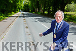 MAyor Michael Gleeson who is welcoming the inclusion of Ross Road Killarney in the roads programme this year