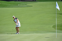 Karine Icher (FRA) chips on to 10 during round 1 of the 2018 KPMG Women's PGA Championship, Kemper Lakes Golf Club, at Kildeer, Illinois, USA. 6/28/2018.<br /> Picture: Golffile | Ken Murray<br /> <br /> All photo usage must carry mandatory copyright credit (&copy; Golffile | Ken Murray)