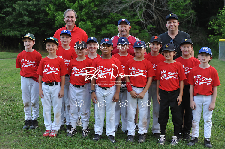 Germantown Baseball League all star game at Cameron Brown Park in Germantown, Tenn. on Wednesday, June 3, 2015. The Red team won 4-2.
