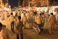 A photo of the old bazaar in Pawalpindi Pakistan
