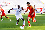 Gao Lin of China (R) vies for the ball with Daniel Tagoe of Kyrgyz Republic during the AFC Asian Cup UAE 2019 Group C match between China (CHN) and Kyrgyz Republic (KGZ) at Khalifa Bin Zayed Stadium on 07 January 2019 in Al Ain, United Arab Emirates. Photo by Marcio Rodrigo Machado / Power Sport Images
