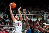 STANFORD, CA--Stanford loses to the University of California 55-67.
