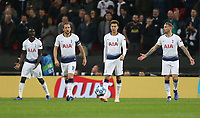 Dejection for Tottenham Hotspur after going 1-0 down<br /> <br /> Photographer Rob Newell/CameraSport<br /> <br /> UEFA Champions League -Group B - Tottenham Hotspur v PSV Eindhoven - Tuesday 6th November 2018 - Wembley Stadium - London<br />  <br /> World Copyright © 2018 CameraSport. All rights reserved. 43 Linden Ave. Countesthorpe. Leicester. England. LE8 5PG - Tel: +44 (0) 116 277 4147 - admin@camerasport.com - www.camerasport.com