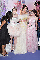 LONDON, UK. November 01, 2018: Misty Copeland, Ellie Bamber, Keira Knightley &amp; Mackenzie Foy at the premiere of &quot;The Nutcracker and the Four Realms&quot; at the Vue Westfield, London.<br /> Picture: Steve Vas/Featureflash