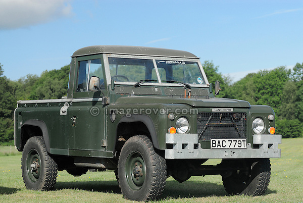 100in Land Rover prototype for the Swiss and French Army. Dunsfold Collection Open Day 2009. NO RELEASES AVAILABLE.