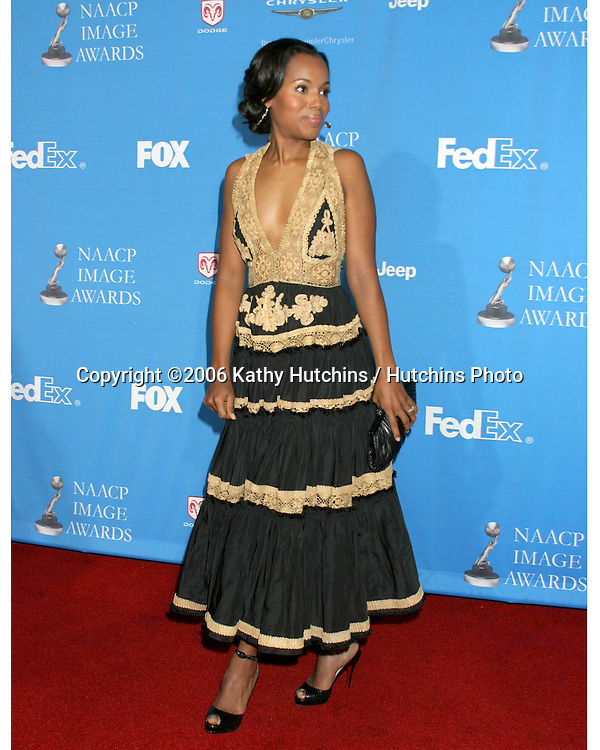 Kerry Washington.37th NAACP Image Awards.Shrine Auditorium.Los Angeles, CA.February 25, 2006.©2006 Kathy Hutchins / Hutchins Photo....                 V