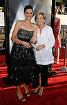 """Actress Amanda Peet and mother Penny arrive at the The World Premiere of """"The X-Files: I Want To Believe"""" at Mann's Grauman Chinese Theatre on July 23, 2008 in Hollywood, California."""